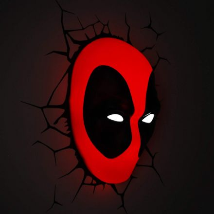 Marvel Deadpool Wall Decor 3D LED light